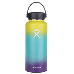 12oz/18oz/32oz/40oz Stainless Steel Water Bottle Hydro Flask Coffee Bottle Vacuum Insulated Wide Mouth Travel Portable Thermal