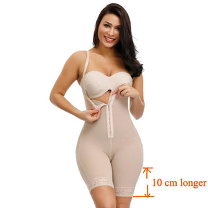 Plus Size Women Full Body Shapewear Underbust Slimming Mid thigh Shaper fajas Body Girdle