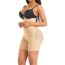 Load image into Gallery viewer, Plus Shapewear Workout Waist Trainer Corset Butt lifter Tummy Control Plus Size Booty Lift Pulling Underwear Shaper