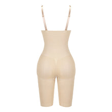 Load image into Gallery viewer, Women's Seamless Plus Size High Waist Control Panties Shapewear Thigh Slimmer Body Shaper Abdomen Butt Lifter Underwear
