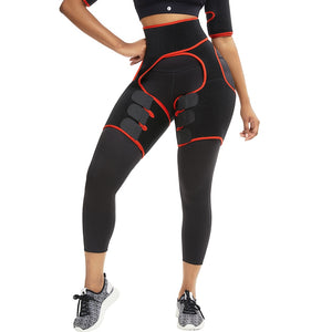 Slim Thigh Trimmer Leg Shapers Slender Slimming Belt Neoprene Sweat Shapewear Toned Muscles Band