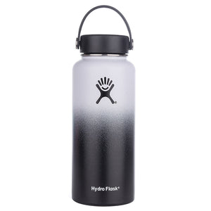 12oz/18oz/32oz/40oz Stainless Steel Wide Mouth Water Bottle Hydro Flask Vacuum Insulated