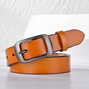 Women Belt Fashion Female Belt Women Genuine Leather Belts For Women Female Belts Pin Buckle belts Fancy Vintage for Jeans