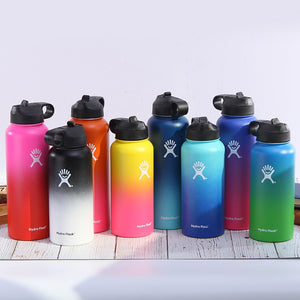 Stainless Steel Water Bottle Thermos Hydroflask Outdoors Sports Wide Mouth Vacuum Insulated Thermal Tumbler Bottle hydro flask