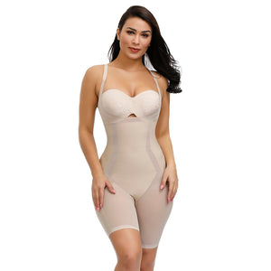 Full Body shaper Modeling Shapewear Waist Cincher Underbust Bodysuit Control Panties Postpartum Recover Slimming Corset