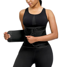 Load image into Gallery viewer, Women Waist Trainer Neoprene Belt Weight Loss Cincher Body Shaper Tummy Control Strap Slimming Sweat Fat Burning Girdle