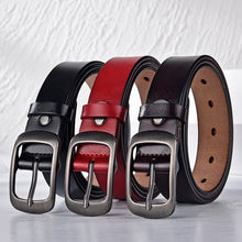 Load image into Gallery viewer, Women Belt Fashion Female Belt Women Genuine Leather Belts For Women Female Belts Pin Buckle belts Fancy Vintage for Jeans