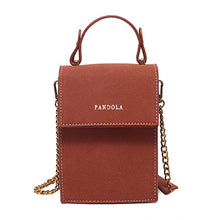 Load image into Gallery viewer, Multifunction Ladies Lock Mobile Phone Wallets PU Leather Purse For Women Handbag Credit Card Shoulder Bags Mini Messenger Bag