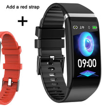 Load image into Gallery viewer, Smart Band Blood Pressure 1.14'' Screen Fitness Tracker Watch Heart Rate Fitness Bracelet Waterproof Music Control For Men Women