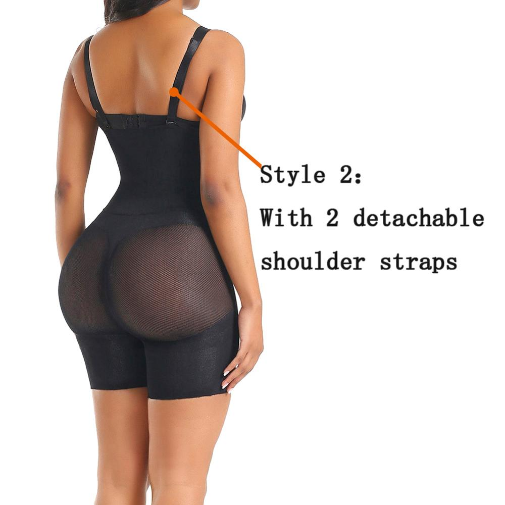 Plus Shapewear Workout Waist Trainer Corset Tummy Control Plus Size Booty Lift Pulling Underwear