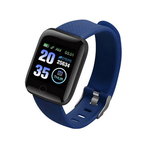 Smart Band Blood Pressure 1.14'' Screen Fitness Tracker Watch Heart Rate Fitness Bracelet Waterproof Music Control For Men Women