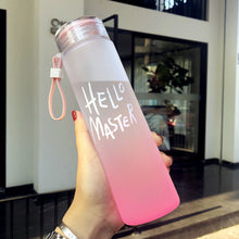 Load image into Gallery viewer, New Plastic Bottle For Water Sport 500ml Portable Rope Kids Drinkware Outdoor Leak Proof Seal Gourde Climbing Water Bottles