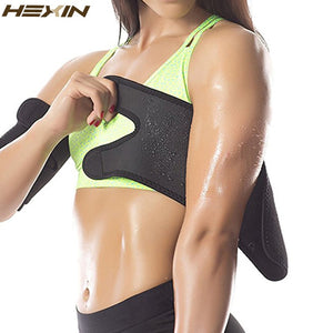 Armbands Body Shapers Neoprene Sauna Arm Warmers Slimmer Sleeve Trimmers Wraps For Lose Fat Arm Shaper Weight Loss