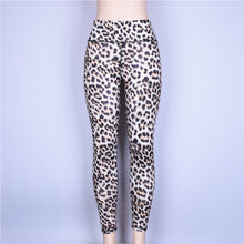Load image into Gallery viewer, New Leopard Print High Waist Hip Push Up Yoga Leggings Women High Elastic Slim Gym Workout Tight Pants Fitness Clothing