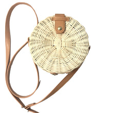 Load image into Gallery viewer, Square Round Mulit Style Straw Bag Handbags Women Summer Rattan Bag Handmade Woven Beach Circle Bohemia Handbag New Fashion