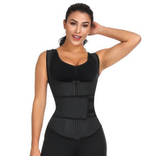 Load image into Gallery viewer, Latex Waist Trainer Vest Corset High Compression Women Zipper Body Shaper Underbust Waist Cincher Girdle Shapewear