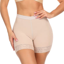 Load image into Gallery viewer, Control Short Womens Butt and Hip Enhancer Lace Underwear Panty Body Shaper Push Up Butt Lifter Panty Boyshorts Shapewear