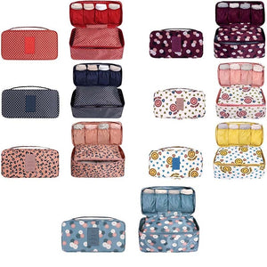 New Travel Bra Underwear Organizer Bag Cosmetic Daily Packing cubes Supplies Toiletries Storage Bra Bag case 30