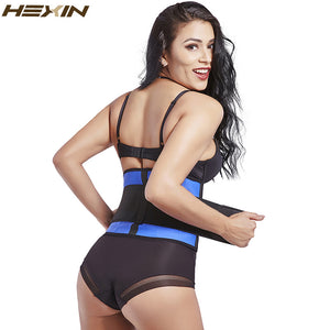 Latex Slim Waist Trimmer Belt Adjustable Sweat Belt Fajas Body Shaper Classic Workout Latex Waist Trainer Corset Shapewear