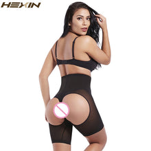 Load image into Gallery viewer, Women High Waist Slimming Butt Booty Lifter With Tummy Control Body Shaper Underwear Breathable Waist Trainer Cincher
