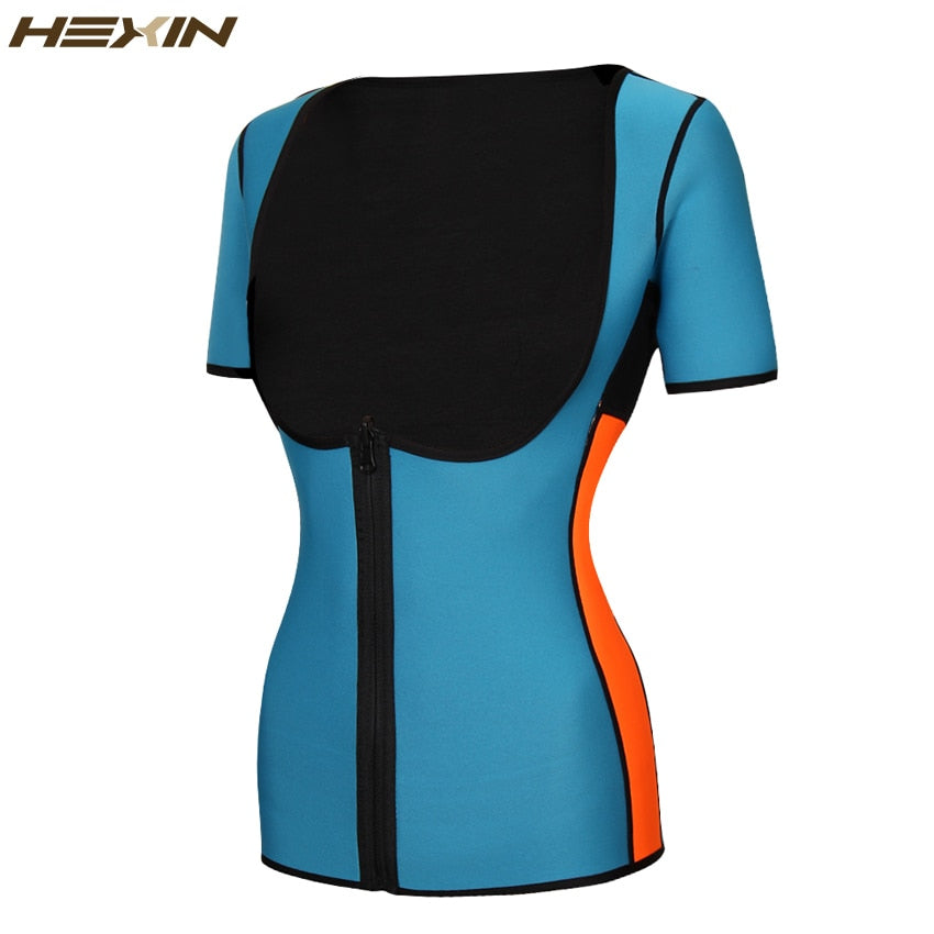 Neoprene Slimming  Vest Exercise Top Sauna Suit for Weight Loss Thermo Sweat Waist Trainer