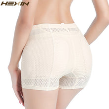 Load image into Gallery viewer, Shaper Bottom Panties Women Vide Breathable Underwear Hip Enhancer Butt Pad Hip Pants Brief Panties Enhancer