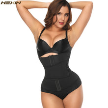 Load image into Gallery viewer, Neoprene Sauna Sweat Waist Cincher Zipper Corsets Body Shaper Abdominal