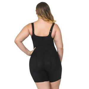 Full Body Shaper Belt Zipper Hooks Waist Trainer Butt Lifter Thigh Slimming Panties Tummy Control Push Up Shapewear