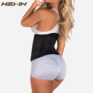 6 Rows Hook Steel Bone  Body Shaper Waist Cincher Control Corset Slimming Belt Tummy Fat Burner Girdle Waist Trainer