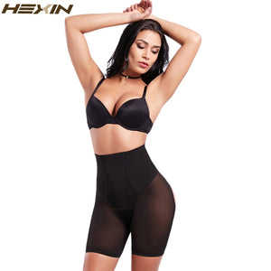 Women High Waist Slimming Butt Booty Lifter With Tummy Control Body Shaper Underwear Breathable Waist Trainer Cincher
