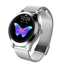 Load image into Gallery viewer, Smart Watch Women Waterproof Heart Rate Monitoring Bluetooth For Android IOS Fitness Bracelet