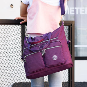 Women Top-handle Shoulder Bag Luxury Handbags Designer Nylon Messenger Bags Beach Casual Tote Female Purse Crossbody Bags