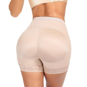 Control Short Womens Butt and Hip Enhancer Lace Underwear Panty Body Shaper Push Up Butt Lifter Panty Boyshorts Shapewear