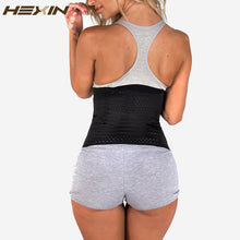 Load image into Gallery viewer, 6 Rows Hook Steel Bone  Body Shaper Waist Cincher Control Corset Slimming Belt Tummy Fat Burner Girdle Waist Trainer