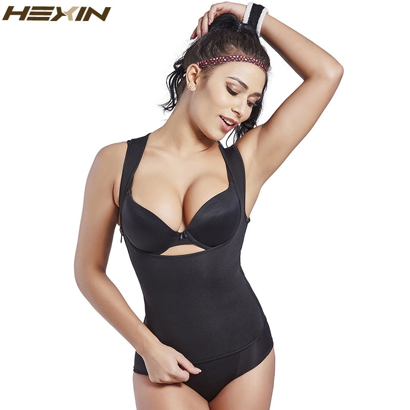 Shapers Waist-Trimmer Slimming Shirt Women Corset Waist Trainer Body Shaper Vest