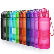 Load image into Gallery viewer, Water Bottle 1000 ML sports Protein Shaker Outdoor Travel Portable Leakproof Tritan plastic Large Capacity Drink Bottle BPA Free