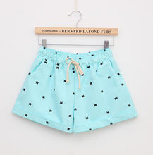 Load image into Gallery viewer, Summer Style Shorts Women Candy Color Elastic With Belt  Short Women