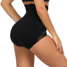 Load image into Gallery viewer, Seamless Shaping Panty Lace Butt Lifter with 4 Bones High Waist Trainer Body Shaper Slimming Shapewear Tummy Shaper