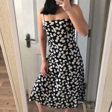 Load image into Gallery viewer, New Sexy  Women Ladies Summer Floral Beach Midi Dress Holiday Strappy Button Fashion Sun Dresses