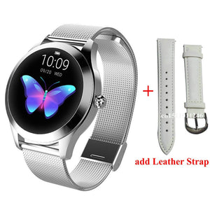 Smart Watch Women Waterproof Heart Rate Monitoring Bluetooth For Android IOS Fitness Bracelet