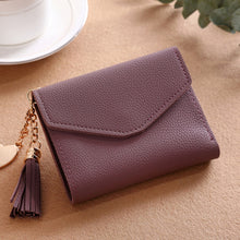 Load image into Gallery viewer, Long Wallet Women Tassel Fashion Coin Purse Card Holder Wallets High Quality PU Leather
