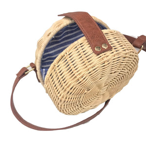 Square Round Mulit Style Straw Handbags Women Summer Rattan Handmade Woven New Fashion