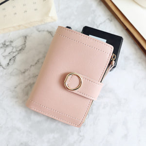 Women Wallets Small Fashion Brand Leather Purse Clutch