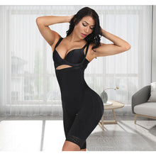Load image into Gallery viewer, Slimming Women Full Body Shaper Tummy Control Waist Cincher Underbust Removable Shoulder Strap Butt Lifter Shapewear Plus