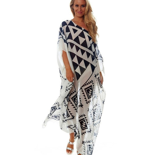 Swimsuit Cover Up Beach Woman Beach Outlet Cover Ups Black White Beachwear Dresses Long Maxi Dress For Women Bikini Summer