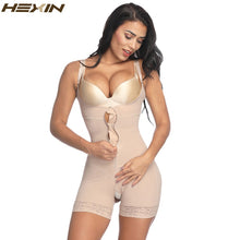 Load image into Gallery viewer, Clip and Zip Waist Lace Slimming Corset Control Shapewear Body Shaper Underwear Women