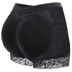 Womens Butt and Hip Enhancer Padded Body Shaper Seamless Underwear Panties