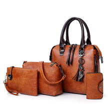 Load image into Gallery viewer, New 4pcs/Set Women Composite Bags High Quality Handbags PU