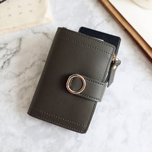 Load image into Gallery viewer, Women Wallets Small Fashion Brand Leather Purse Women Ladies Card Bag For Women Clutch Women Female Purse Money Clip Wallet