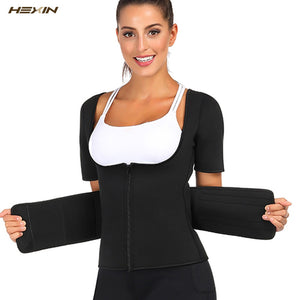 Neoprene Body Shaper Slimming Waist Trainer Cincher Vest Women Shapers Tummy Belly Girdle Plus Size Shaperwear Corset